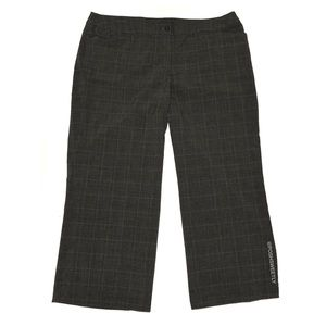 Lane Bryant Plaid Houndstooth Trousers